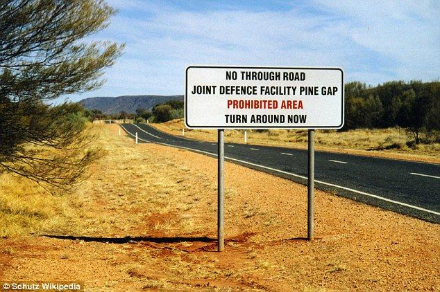 The secrets of Pine Gap in the remote Australian outback | Daily Mail Online