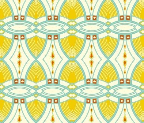 Spoonflower Art Deco Pattern