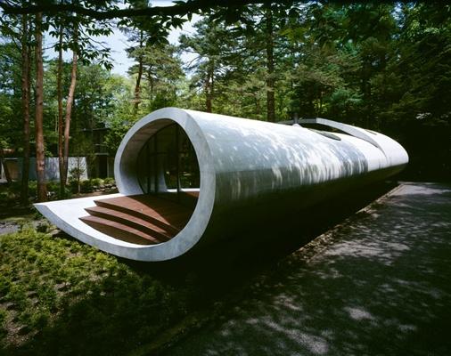 """Shell"" residence by Japanese architect, Kotaro Ide of ARTechnic."