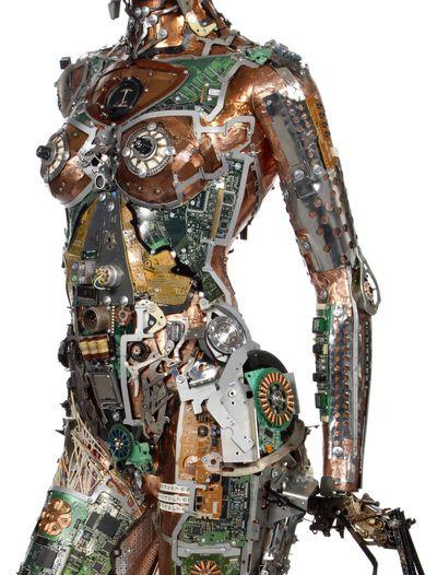 Gabriel #Dishaw sublime nos vieux déchets high-tech