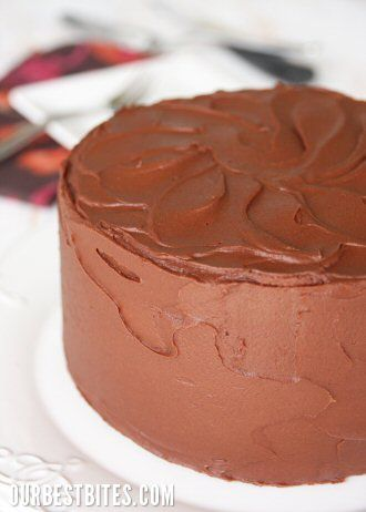 Supposedly the best chocolate cake/frosting recipe!  Since it is from Cook's Illustrated, I am thinking it probably is :)