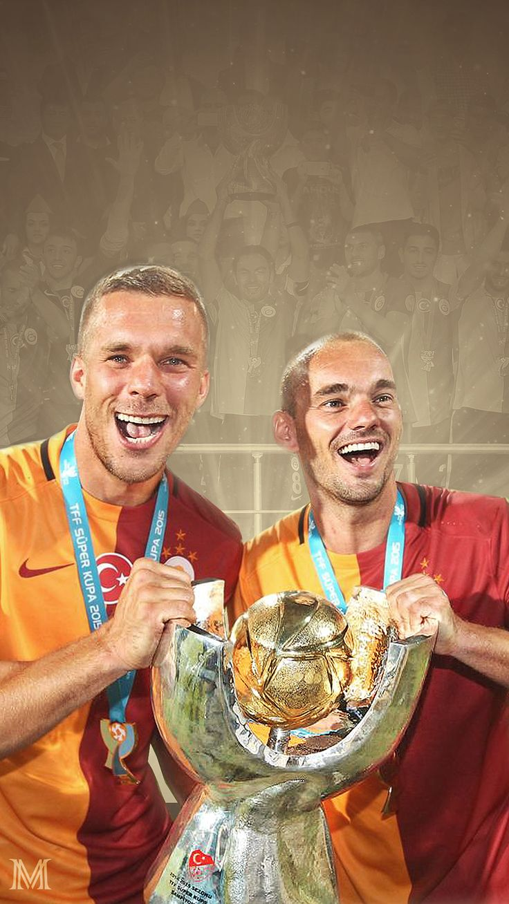 Podolski & Sneijder Süper Kupa
