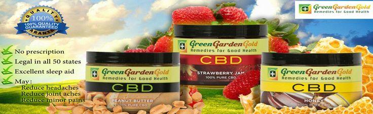WizardsCBD is offering Green Garden CBD Edibles in three different flavor.
