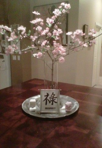 25 Best Ideas About Cherry Blossom Centerpiece On