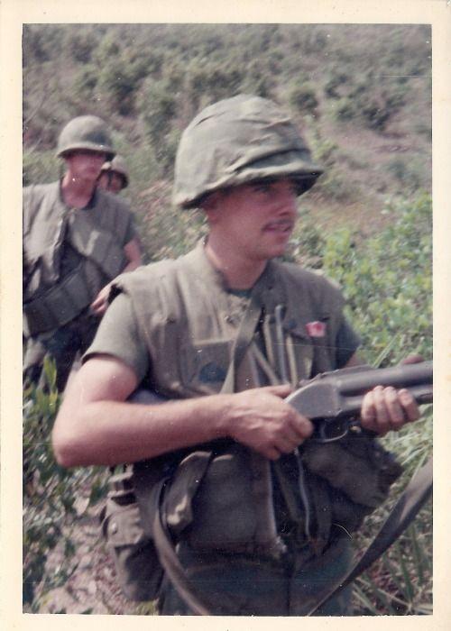 US Marine armed with an M79 grenade launcher ~ Vietnam War