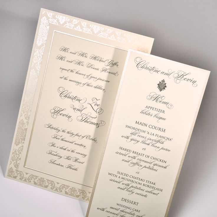 Any couple considering a classically designed invitation