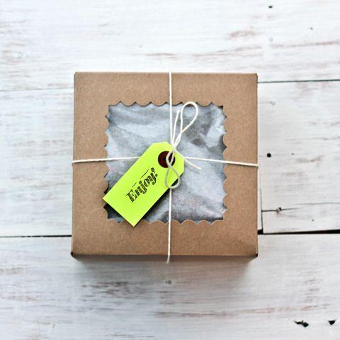 Small Kraft Bakery Box | Little Ink | Packaging Supplies | Baking Supplies | Craft Supplies | Party Supplies