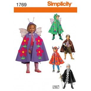 1769 - Costumes - Simplicity Patterns