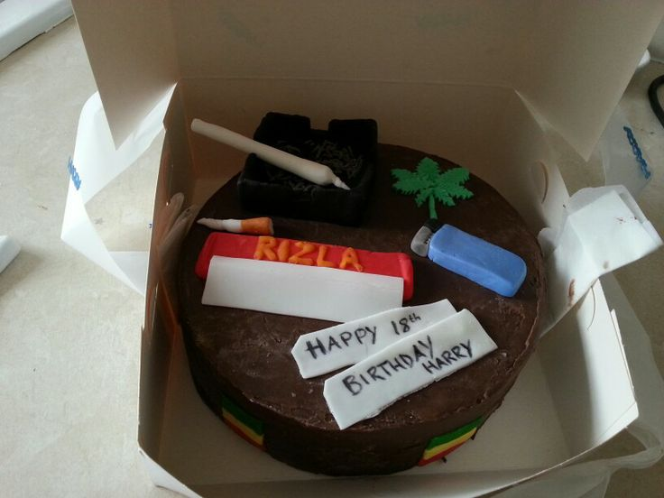 Marijuana Birthday Cake Ideas