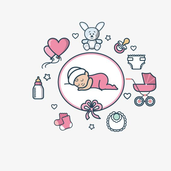 Baby product. Clipart png transparent