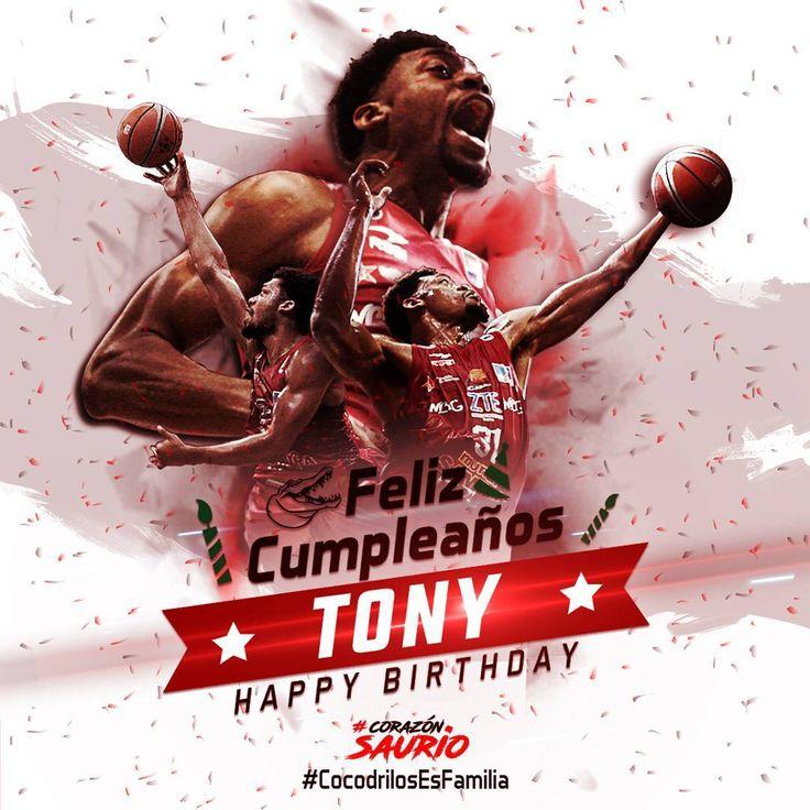 Feliz Cumpleaños (07-04-17) 🎂🎉 Tony Mitchell ¡Los mejores deseos para ti!  Happy Birthday Tony Mitchell best wishes for you!  #CorazónSaurio #CocodrilosEsFamilia