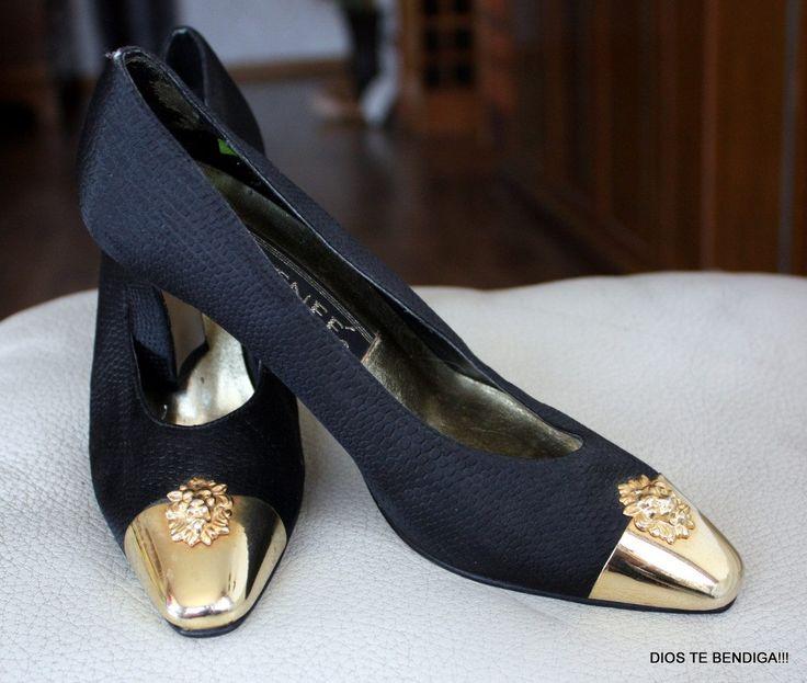 zapatos-reina-negro-dorados-fiesta-j-renee-