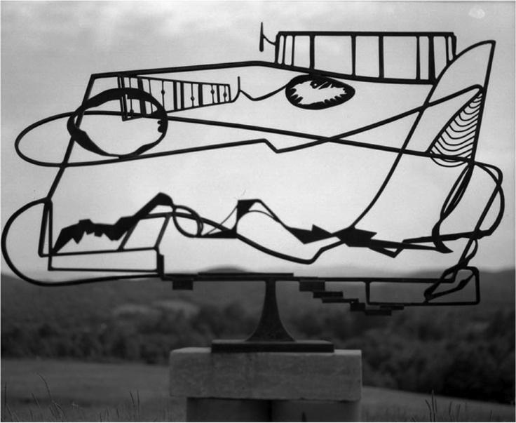 David Smith: Hudson River Landscape (1951) Whitney Museum  .
