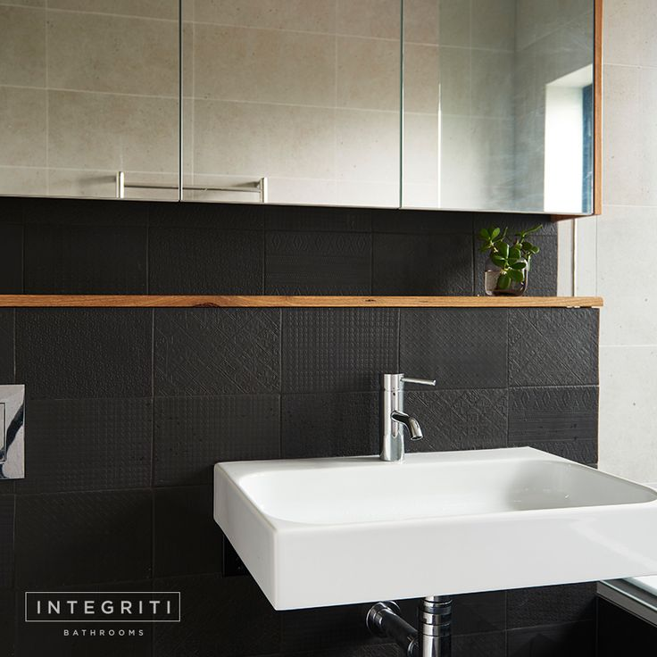 This vanity design is definitely a little less conventional but we wanted it to be a statement piece in the bathroom and the result turned out great. Let us know what you guys think. . #integritibathrooms #custommade #sydneybathroom #interiordesign #bathroom