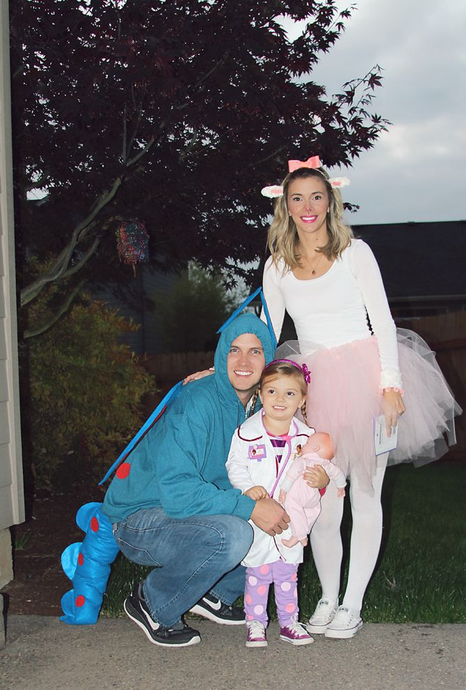 Doc McStuffins family costumes