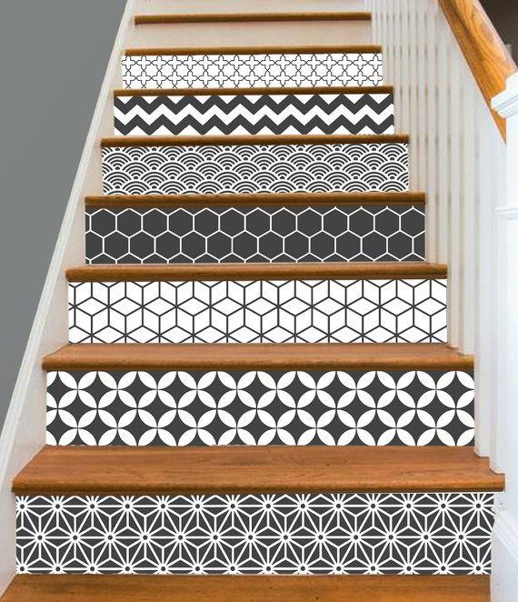 Best 25 stickers escalier ideas on pinterest vinyle for Bande adhesive decorative