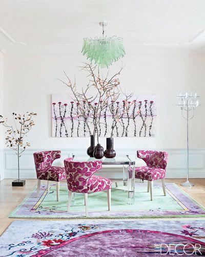 Stylish home: Pink interiors - Luscious: myLusciousLife.com