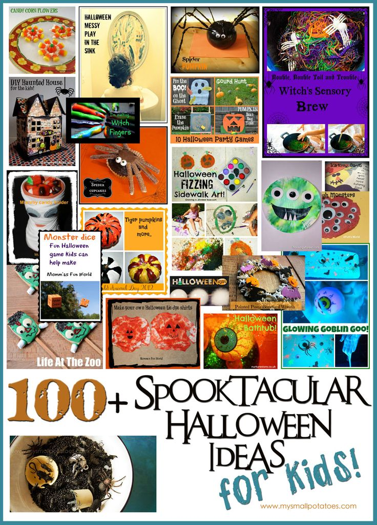 100+ Spooktacular Halloween Ideas for Kids...A Halloween Round-up from Bloggers Around the World!