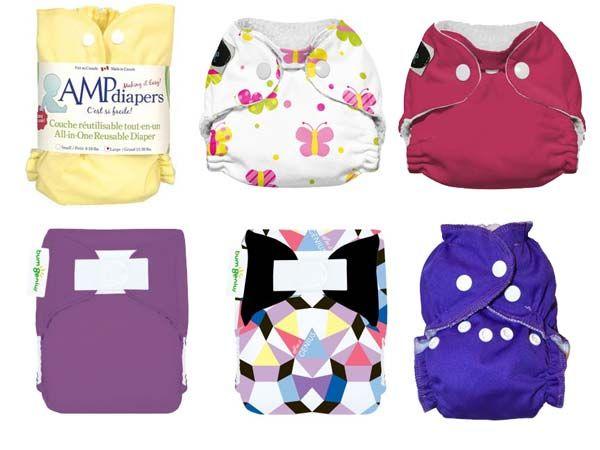 Newborn Sampler Bumdles - Cloth Diapers Canada