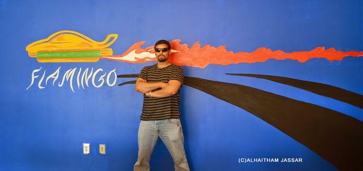 Jassar's Blog: Flamingo Auto Sales Mural!