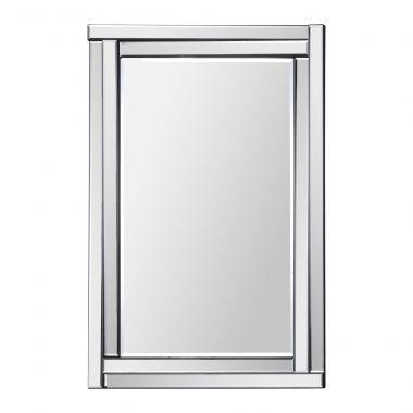 Ce design classique pr�sente un cadre de miroir biseaut� en relief et un miroir central biseaut�. Ce miroir aux lignes sophistiqu�es et distinctes est une addition id�ale pour tous les environnements.