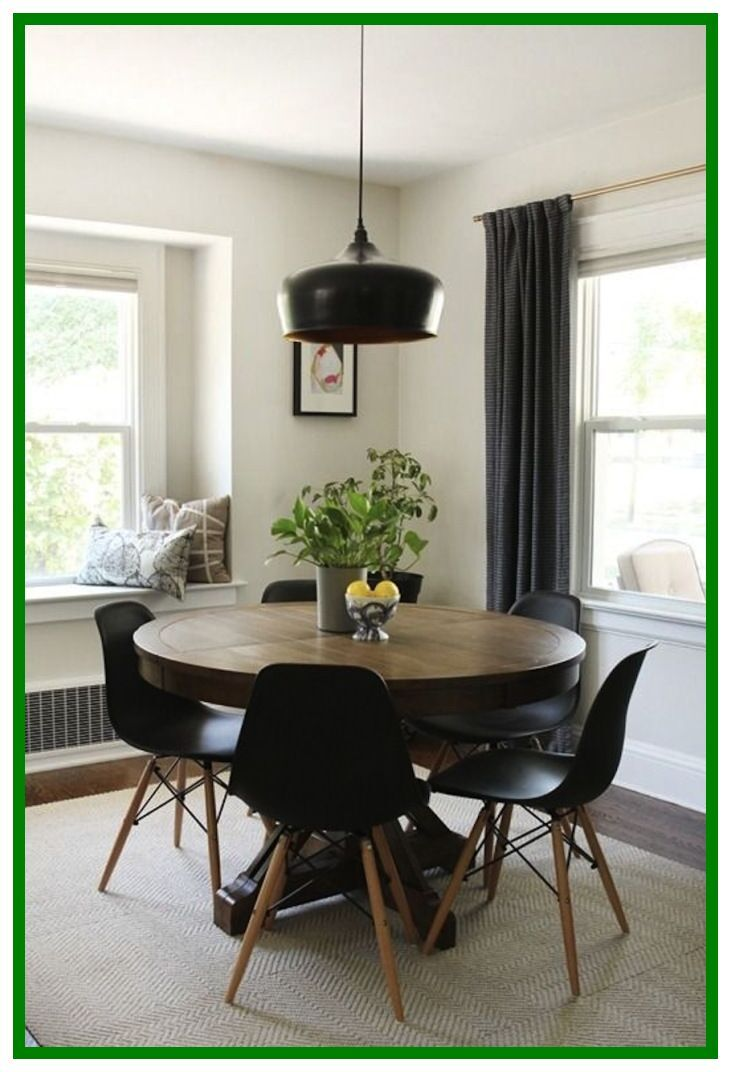 48 Reference Of Dining Room Decor Small Round Table Dining Room Decor Modern Circle Dining Table Minimalist Dining Room
