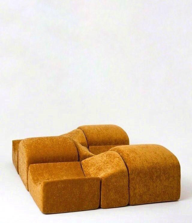 #BernardGovin , 'Asmara Modular Sofa', 1967