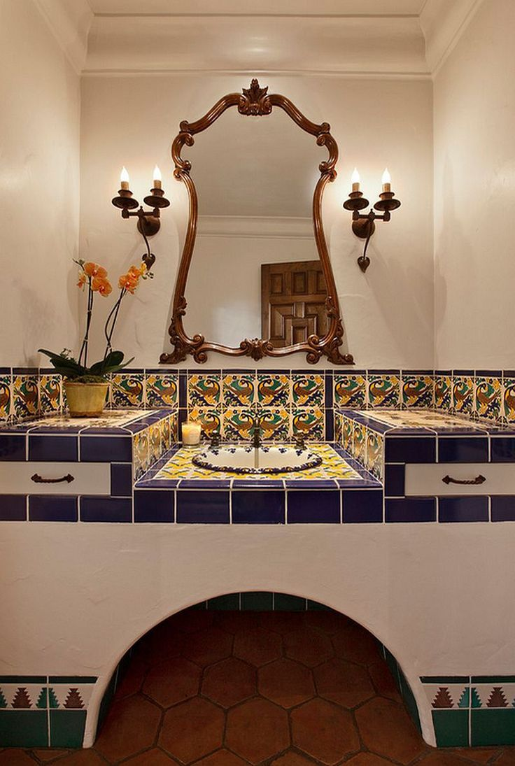 how to decorate your home with vibrant mexican flair tiled decorsmall