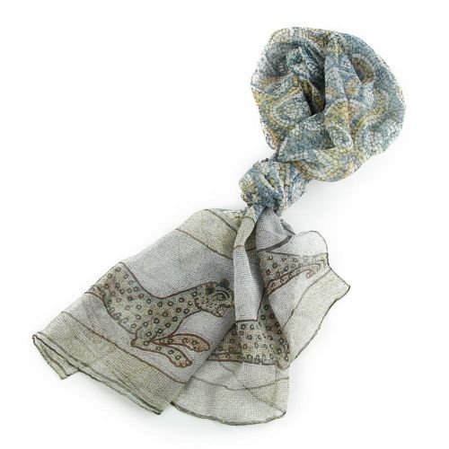Buy From our range of ladies gifts and scarves, the Mosaic Leopard Scarf is available from the English Heritage online gift shop.  International and Next Day Delivery Available.