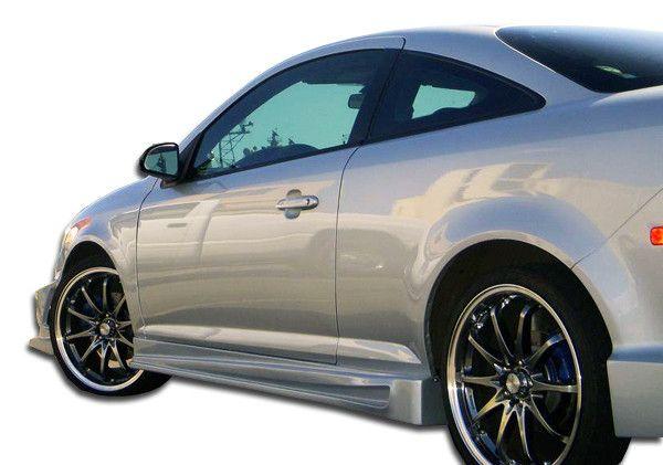 2005-2010 Chevrolet Cobalt 2007-2010 Pontiac G5 2DR Duraflex Bomber Side Skirts Rocker Panels - 2 Piece