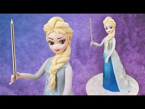 Turma do Frozen - Elsa PARTE 3 - Canal Aula de Biscuit - YouTube