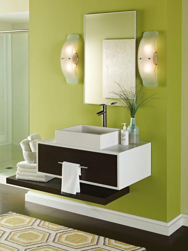 69 best Bathroom Oasis images on Pinterest | Bathroom lighting ...