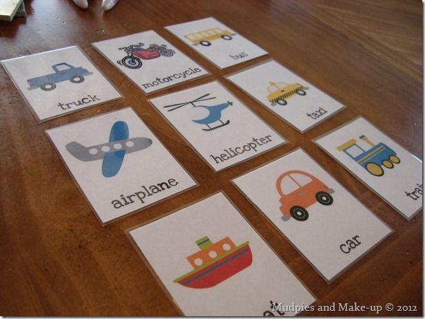 Preschool activities for transportation