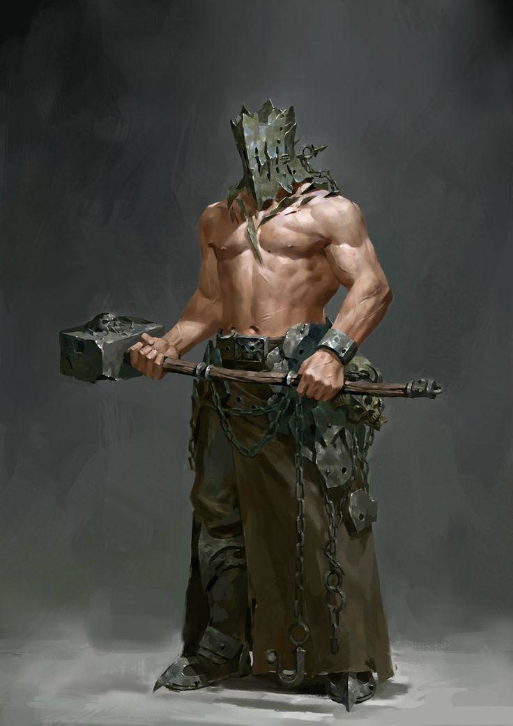 warrior, Li xingchi on ArtStation at https://www.artstation.com/artwork/eD9XZ