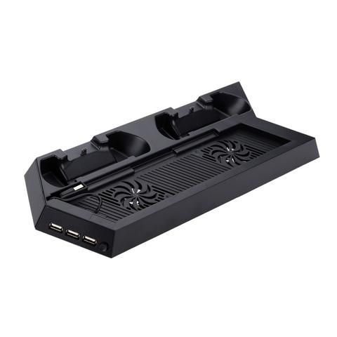 Game Accessory Dual Controller USB Charging Dock for PS4