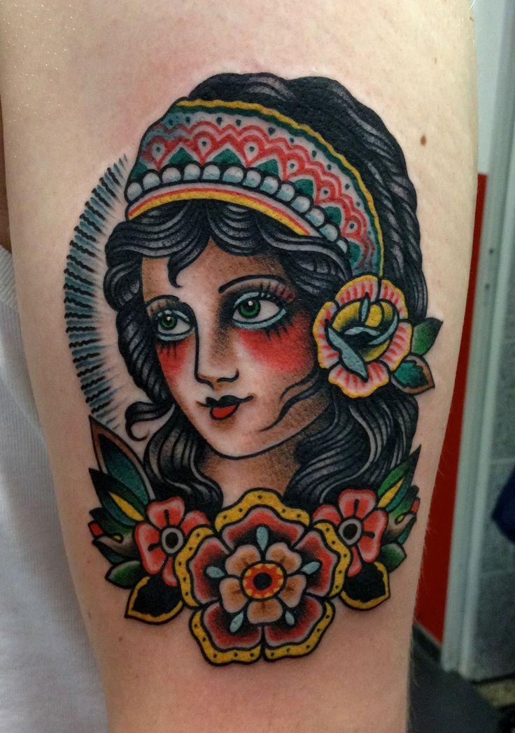 Paul Anthony Dobleman traditional gypsy tattoo