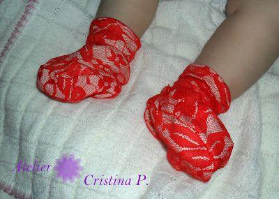 Atelier Cristina P.: Set dantela rosie-