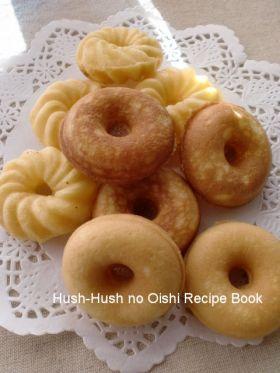 「人気の焼きドーナツレシピプレーン」Hush−san | お菓子・パンのレシピや作り方【corecle*コレクル】