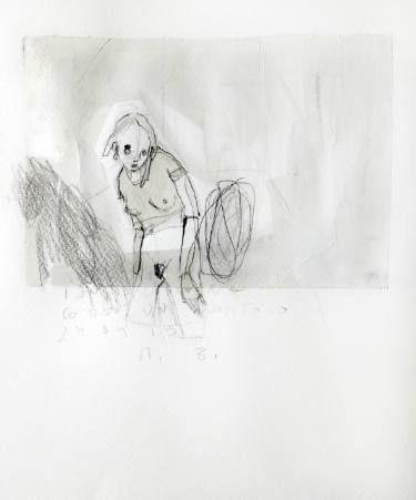 "Saatchi Art Artist Monica Bonzano; Drawing, ""InHisSide"" #art"