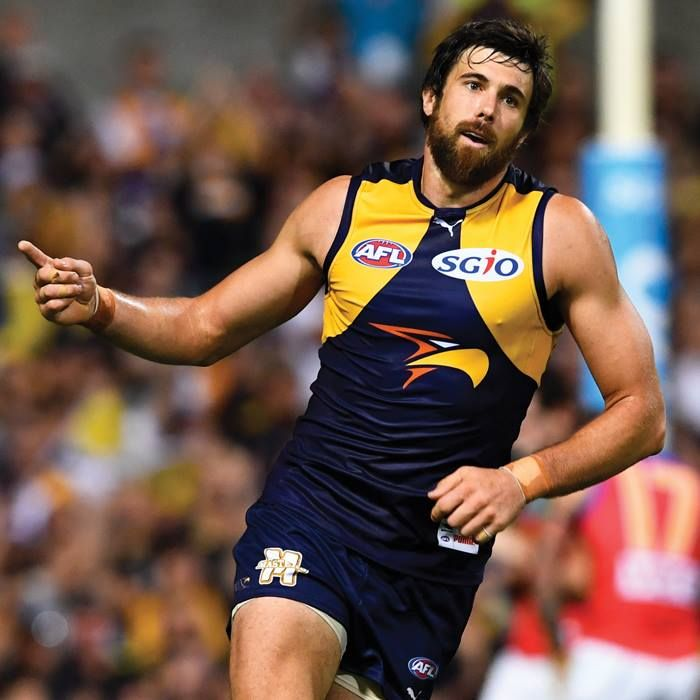 Josh Kennedy will play his 150th game in Round 7 V Geelong