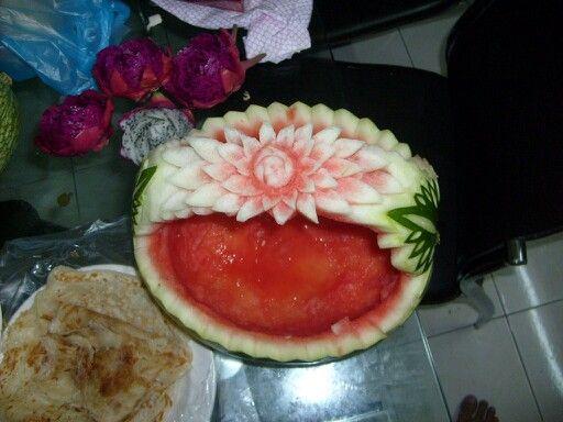 Watermelon in progress!!!