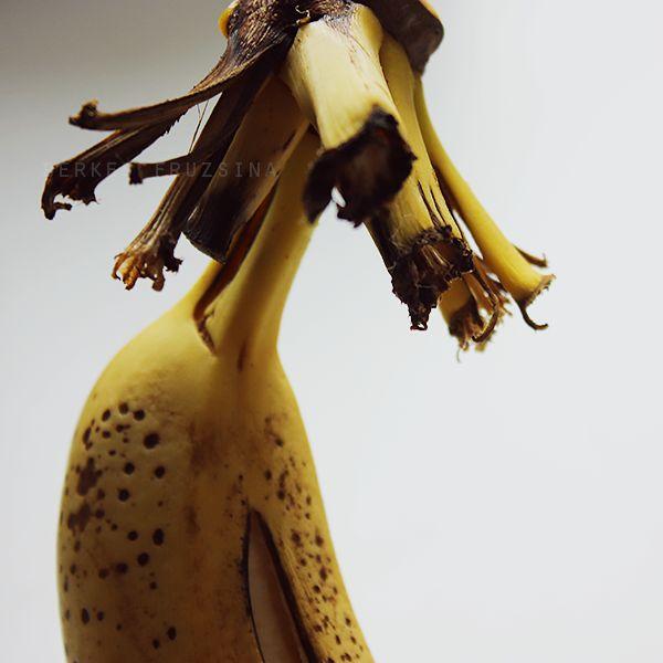 banana portrait