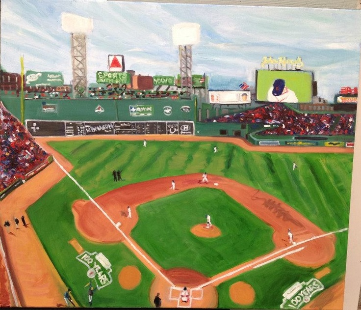 Fenway Park  2012  Oil on Canvas