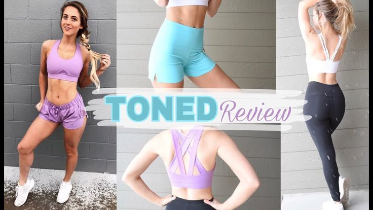 No BS Toned by Ashy Bines Try On + Review