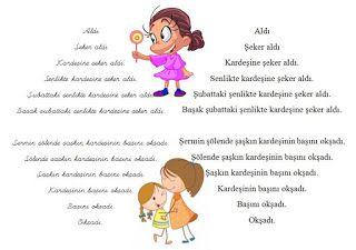 Kübra'nın dersi: Karesel hızlı okuma metinleri
