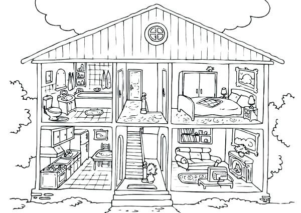 Little House On The Prairie Coloring Pages Collection Little