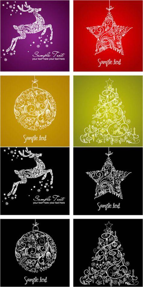 (Diy Ornaments Silhouette)