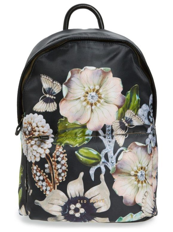 gem gardens backpack by Ted Baker London. Whether you're traveling, commuting or heading to the gym, keep your valuables safe in this stylish backpack boasting...