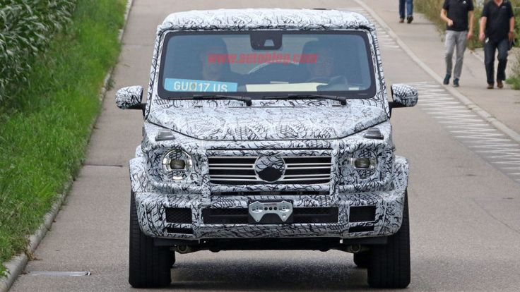 Spy shots show how the new Mercedes G-Wagen is coming along