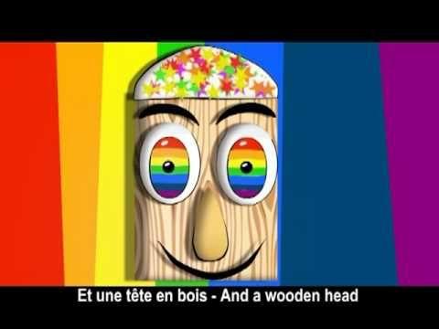Chanson sur les couleurs, song about colors  Arc-en-ciel  © 2011 Music & animation by Alain Le Lait  http://www.yadeeda.com    The chords are:  Verse - Dm A A Dm Bb Dm A Dm  Chorus - A Edim Dm A C#dim Dm Bb Dm A Dm    A French song about colors from the CD Parapluie  Printable lyrics available at http://www.yadeeda.com/french